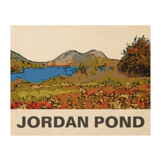 JORDAN POND WOOD WALL DECOR