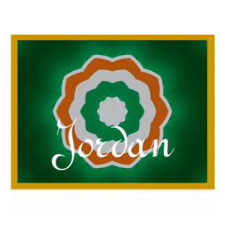 Jordan postcard