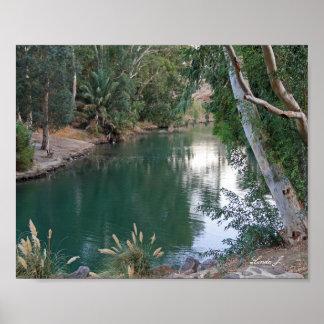Jordan River Israel Canvas Print