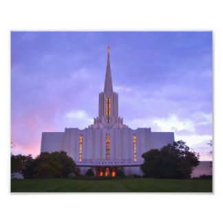Jordan River LDS Temple Photo Print
