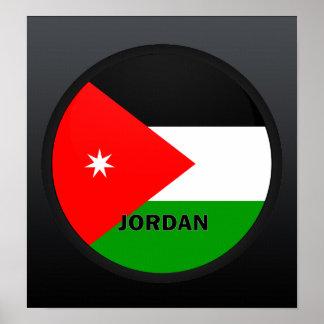 Jordan Roundel quality Flag Poster