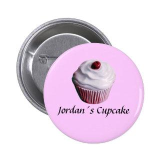 Jordan´s Cupcake 2 Inch Round Button