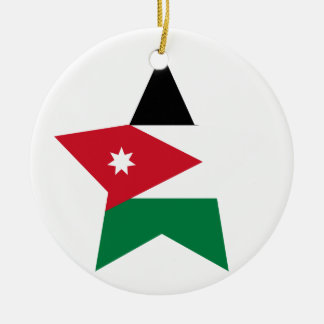 Jordan Star Ceramic Ornament