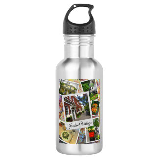 Jordan Village Photo Collage 532 Ml Water Bottle