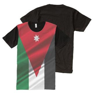 Jordan waving Flag All-Over-Print T-Shirt
