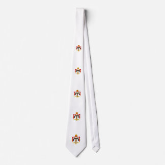 Jordanian coat of arms tie