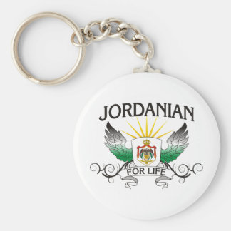 Jordanian For Life Keychain