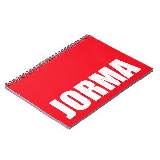 Jorma Spiral Note Books