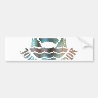 Jormungandr Bumper Sticker
