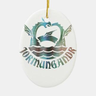 Jormungandr Ceramic Ornament