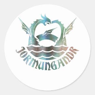 Jormungandr Classic Round Sticker