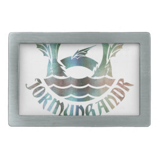 Jormungandr Rectangular Belt Buckle