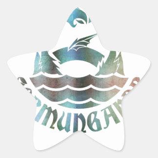 Jormungandr Star Sticker