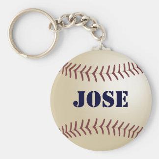Jose Baseball Keychain