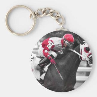 Jose Flores Basic Round Button Keychain