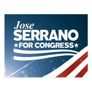 Jose Serrano Postcard
