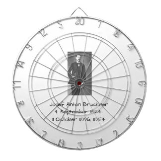 Josef Anton Bruckner 1854 Dartboard