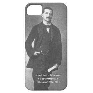 Josef Anton Bruckner 1854 iPhone 5 Cover