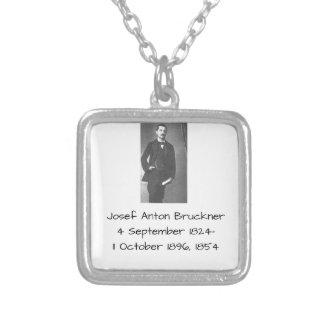 Josef Anton Bruckner 1854 Silver Plated Necklace