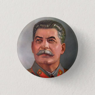 Josef Stalin 1 Inch Round Button