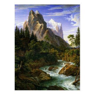 Joseph Anton Koch, Wetterhorn von der Rosenlaui Postcard