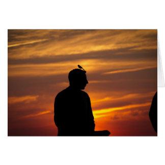 Joseph at Sunset Card