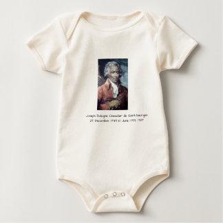 Joseph Bologne, Chevalier de Saint-Georges Baby Bodysuit