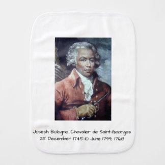 Joseph Bologne, Chevalier de Saint-Georges Burp Cloth