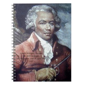 Joseph Bologne, Chevalier de Saint-Georges Notebooks
