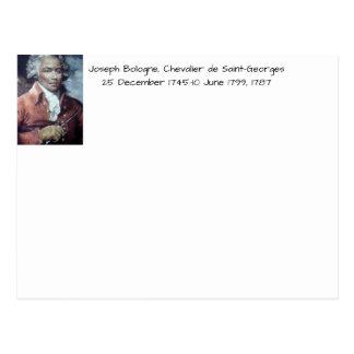 Joseph Bologne, Chevalier de Saint-Georges Postcard