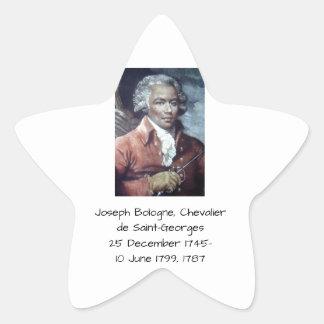 Joseph Bologne, Chevalier de Saint-Georges Star Sticker