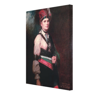 Joseph Brant, Chief of the Mohawks, 1742-1807 Canvas Print