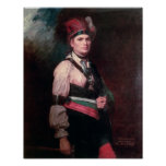 Joseph Brant, Chief of the Mohawks, 1742-1807 Poster