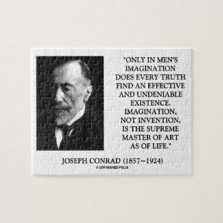 Joseph Conrad Imagination Supreme Master Of Art Jigsaw Puzzle