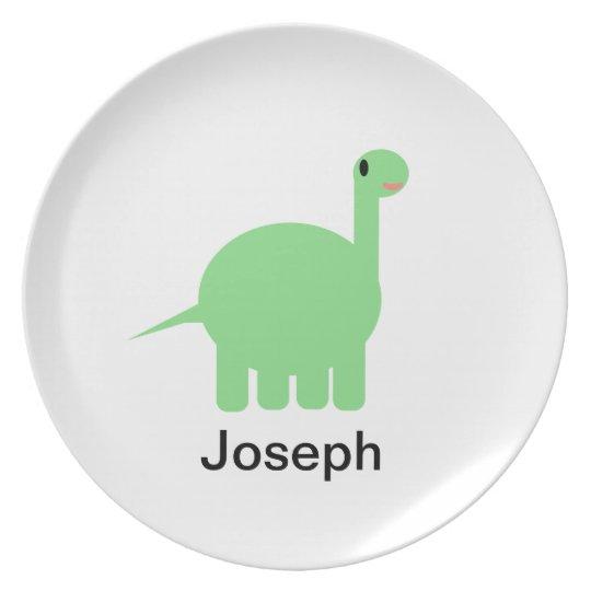 Joseph Dinosaur Plate