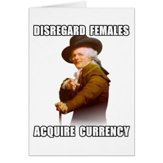 Joseph Ducreux Acquire Currency Card