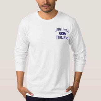Joseph F Tuttle Trojans Crawfordsville Shirts