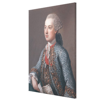 Joseph II  Holy Roman Emperor and King of Canvas Print