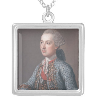 Joseph II  Holy Roman Emperor and King of Silver Plated Necklace