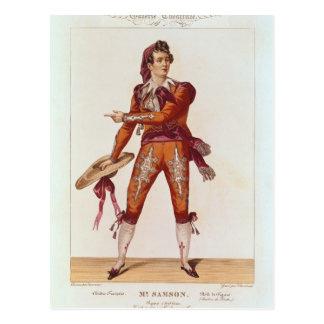 Joseph Isidore Samson  in the role of Figaro Postcard