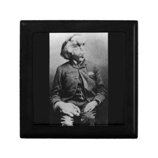 "Joseph ""John"" Merrick The Elephant Man from 1889 Gift Box"