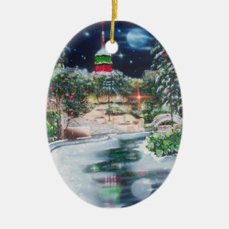 Joseph-Jubilate in Lights-San Antonio Ceramic Ornament