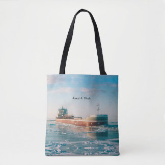 Joseph L. Block all over tote bag
