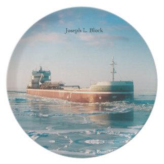 Joseph L. Block plate