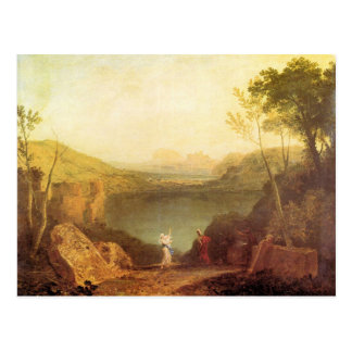 Joseph Mallord Turner - Aeneas and Cybelle at Lake Postcard