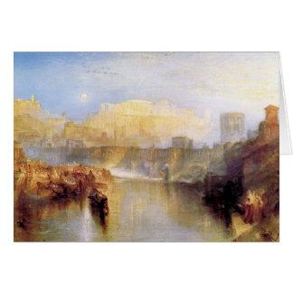 Joseph Mallord Turner - Ancient Rome; Agrippina la Card