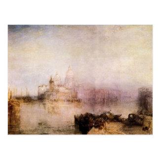 Joseph Mallord Turner - Dogana and Santa Maria in Postcard
