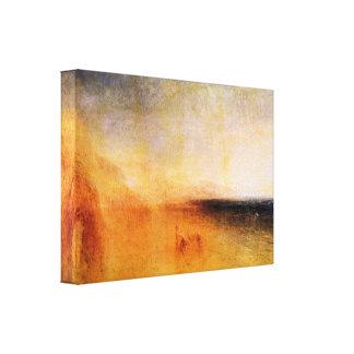 Joseph Mallord Turner - Europa and the bull Canvas Print