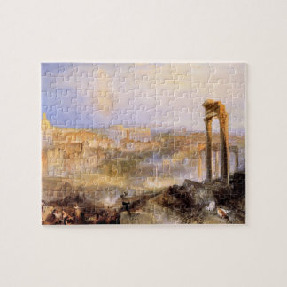 Joseph Mallord Turner - Modern Rome Camp Vaccino Jigsaw Puzzle