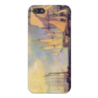 Joseph Mallord Turner - Reing an anchor iPhone 5/5S Cases